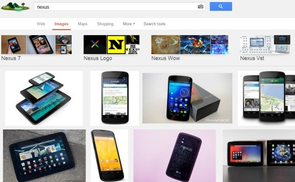Image search - related images - design interface